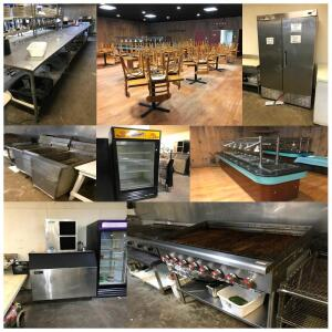 Restaurant Equipment Auction Online Only Bude, MS