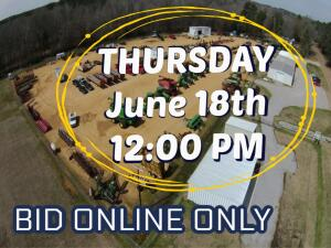 JUNE 18TH MACHINERY AND EQUIPMENT AUCTION