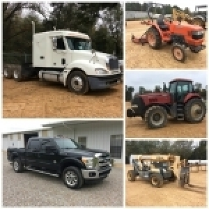 December Equipment Online Auction