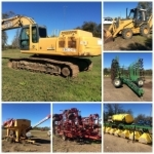 Webcast Farm Machinery Auction - Alligator, Ms