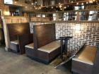 2 Wood Dining Booths