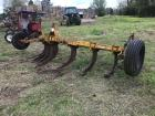 3 Point V Ripper Plow with Gauge Wheels
