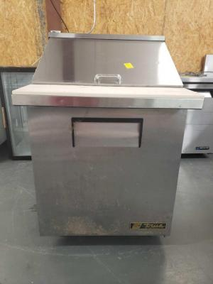 True Stainless Steel Prep Table - Cooler Combo