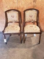 Pair of Upholstered Dining Chairs