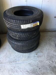 4 Unused Michelin Goodyear And Nankang Tires