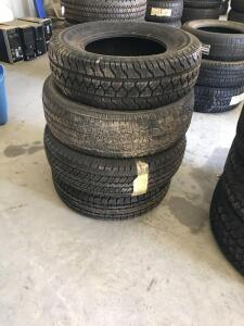 Unused Ultra Tour Firestone and Goodyear Tires