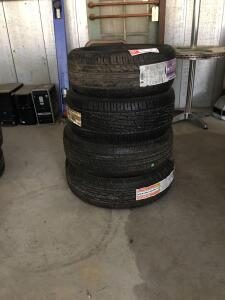 4 Unused Toyo kelly Michelin and Firestone Tires