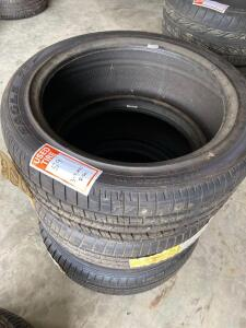 3 Unused Goodyear and Firestone Tires