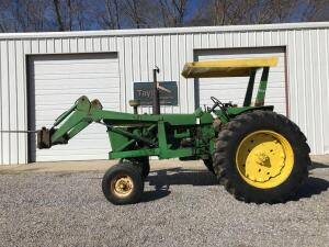1968 John Deere 4020 with Front End Loader
