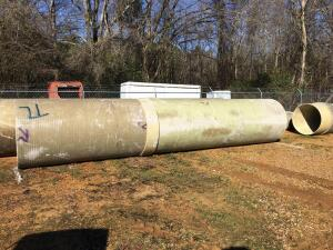 Fiberglass Pipe 5Ft x 26Ft 6 In