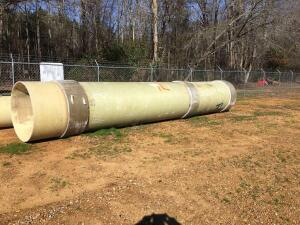 Fiberglass Pipe 4Ft x 27Ft 7 In