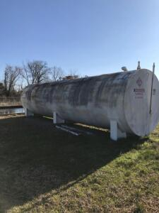 Newberry 12,000 Gallon Tank