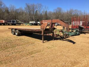 1986 Gooseneck Trailer - Title Available