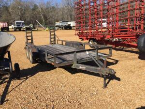 Hoosier Tandem Axle 16 FT. Trailer