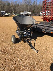 Mossy Oak Bio-Logic ATV Spin Spreader