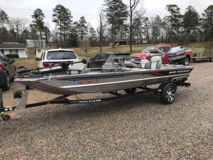 1996 Bass Tracker Pro Team 17