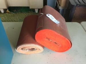 2 Partial Rolls of Sand Paper