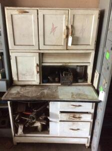 Hoosier Cabinet and Contents