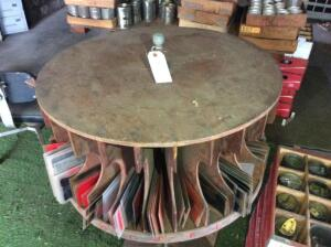 Round Revolving Cabinet