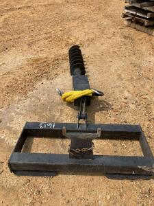 Quick Attach Post Hole Digger for Skid Steer