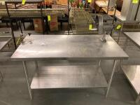 Stainless Steel Work Table - 2