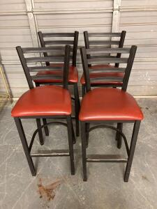 4 High Top Chairs