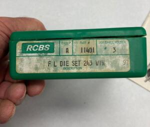 RCBS Reloading Dies for 243 Winchester