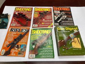 1976 Gun Digest and Other Shooting Magazines