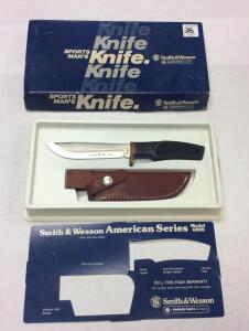 Smith and Wesson Series Model 6080 Knife