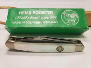 Hen and Rooster Mini Stockman Knife