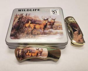 Wildlife Collection Knives