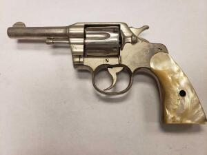 Colt Army Special 38 Caliber Pistol