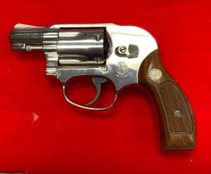 Smith and Wesson Air Weight 38 CTG 38 Revolver Pistol