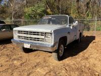 1986 Chevrolet C20 Pickup Truck - Does Not Run
