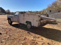 1986 Chevrolet C20 Pickup Truck - Does Not Run - 2