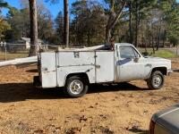 1986 Chevrolet C20 Pickup Truck - Does Not Run - 3