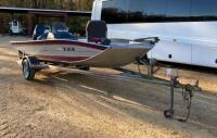 1992 Monark Fisher Bass Boat