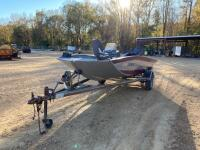 1992 Monark Fisher Bass Boat - 2
