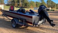 1992 Monark Fisher Bass Boat - 3