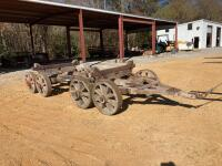 8 Wheel Log Wagon