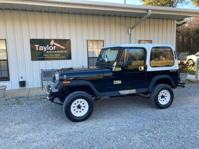 1989 Jeep Wrangler Multipurpose Vehicle (MPV)