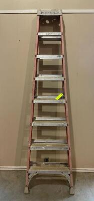 Louisville 8 foot Step Ladder