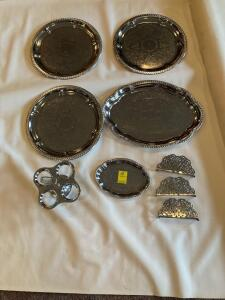 Serving Trays made in Taiwan and India