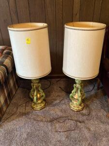 Pair of Vintage Lamps