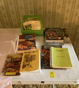 Cookbooks and Recipe Cards