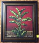 Banana Tree Painting by R. Wilcox