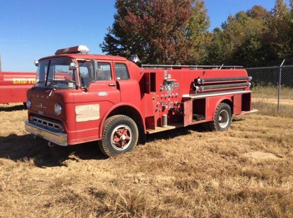 1963 Ford F850 Fire Truck