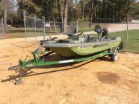 Arrow Glass Bass Boat