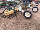 2000 KMC 12 Row Folding Harrow