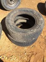 Set of 2 Firestone Transforce AT Tires